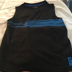 Boys size medium cut off muscle shirt..